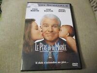"RARE! DVD ""LE PERE DE LA MARIEE 2 II"" Steve MARTIN, Diane KEATON, Martin SHORT"