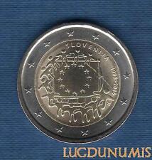 2 Euro Commémo – Slovénie 2015 Drapeau Européen – Slovenija