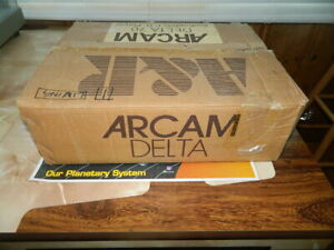 Arcam Delta 70 CD Player with Box  Manual & Remote Tested - Excellent Condition