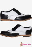 30er 40er 50er Budapester Schuhe Spectator shoes genähte Sohle NEU Größe 38-47