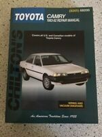 Chilton Toyota Camry repair manual 1983-1992 : All U. S. and Canadian...