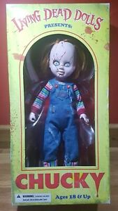 Living Dead Dolls - Chucky - Child's Play Official & Genuine - By MEZCO