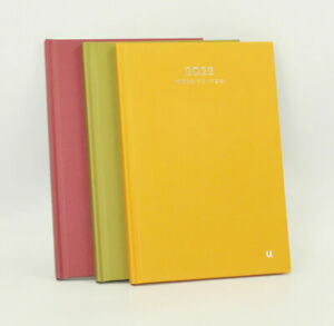 A4/A5 Hardback 2022 Diary Day/Week a Page Organiser Office Planner Daily