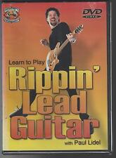 Rippin Lead Guitar with Paul Lidel DVD NEW Musicians DIY Workshop lessons close