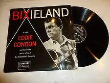 EDDIE CONDON - Bixieland - RARE UK 12-track mono Vinyl LP