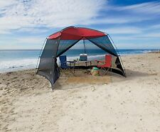10ft Camping Screen House Outdoor Tent Sun Shade Large Shelter Beach Mesh Canopy
