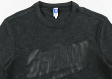 Men's G-STAR RAW / G RAW Charcoal Gray Grey Knit Shirt Medium M NWT NEW