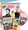 24020 1950 DVD CARD DVDCARD BIRTHDAY GREETING VISUAL HISTORY OF A SPECIAL YEAR