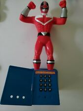 Power Rangers Time Force - Talking (Red) Ranger, Planet Toys 2001, Tested&Talks