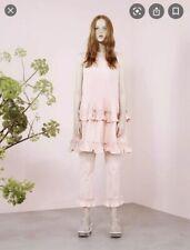 NWT Simone Rocha x J. Brand Pink Denim Ruffle Short Pants. Seriously Cute! M