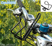Handlebar Cup Holder Beverage Water Bottle Black Aluminum Alloy Motorcycle Bike