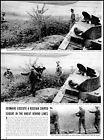 1941 WW2 photo Article Germans execute a Russian sniper behind the line  (ADL4)