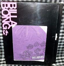 Billabong Purple T Shirt & Beanie Hat Set in Medium - 100 Authentic