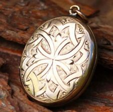 Pendant Vintage & Antique Jewellery without Stone 9k Metal Purity
