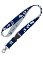 New York Yankees Detachable Team Logo Colors Quality Lanyard Keychain MLB
