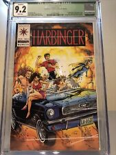 Harbinger #1 CGC 9.2, White Pages Without Coupon Qualified