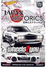 NISSAN SKYLINE 2000GT-R 2016 Hot Wheels Car Culture JAPAN HISTORICS Real Riders