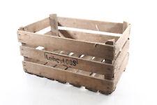 bella antico Scatola legno scatola art deco vintage Frutta Cassetta trasporto