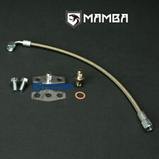 MAMBA Turbo Oil Feed Line for 5.9L & 6.7L Dodge Ram Truck w/ Garrett T04E T04R