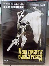 """DVD """"NON APRITE QUELLA PORTA"""" TOB HOOPER - STORMOVIE 2006 SIGILLATO- A8"""