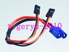 1pce EC3 Male to 2x JR Male Y Harness for Battery