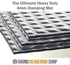 Silent Coat 4mm Extra Volume Pack 12 Sheets Sound Deadening Proofing Vibration