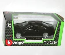 Burago - MERCEDES BENZ CL550 (Black) Model Scale 1/32