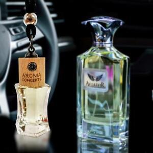 Aviator Car Air Freshner Scent Diffuser Oil Perfume Hanging Bottle Fragrance10ml