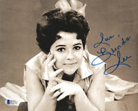 BRENDA LEE SIGNED AUTOGRAPHED 8x10 PHOTO I'M SORRY MUSIC LEGEND RARE BECKETT BAS