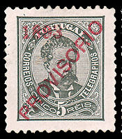 Portugal #88 MLH CV$30.00 XF (Perf 11 1/2 Repaired) King Luis