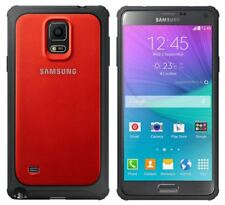GENUINE SAMSUNG GALAXY NOTE 4 RED PROTECTIVE COVER RUGGED BUMPER SHOCKPROOF CASE