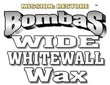 Bombas Wide White Wall Tire Wax -12oz.