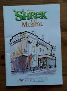 Shrek The Musical Programme Theatre Royal Drury Lane 2011
