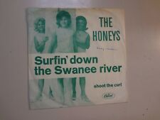 "HONEYS: Surfin' Down The Swanee River(Written By Brian Wilson)-Denmark 7"" 63 PSL"