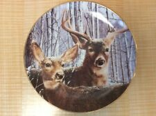 The Danbury Mint Plate Snowy Alert By Bob Travers Free Shipping