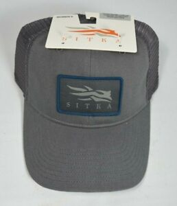 Sitka Women's Trucker Cap Woodsmoke Snapback Meshback Hat OSFA Hunting Big Game