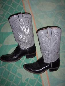 Justin Cowboy, Western BOOTS MEN'S SIZE 7 D