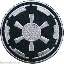 STAR WARS Imperial Target Logo Episode Movies Sew Embroidered Iron on Patch M008