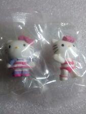 Hello Kitty Mini Figure Sanrio Italy Set of 2 from Panini Sticker Collection /X6