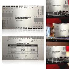 1Pc String Action Gauge Ruler Guide Setup Measuring For Guitar Luthier Tools nhj