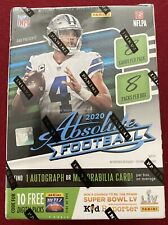 Factory Sealed 2020 Panini Absolute NFL Football Blaster Auto Relic Kaboom