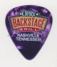 OPRY BACKSTAGE GRILL PURPLE GUITAR PICK COUNTRY MUSIC CITY NASHVILLE Tennessee