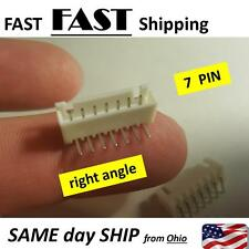 2 PACK --- 7 Pins JST Header Socket Male Connector Circuit Board Mount 7pin