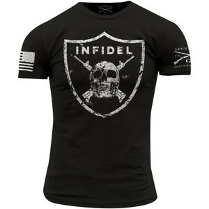 Grunt Style Infidel Crewneck T-Shirt - Black