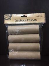 NEW - CARDBOARD TUBES - PACK OF 4 - 14cm x 4cm
