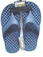 EMPIRE Men's Flip Flops Casual Footwear Dark Blue Size Large (10)