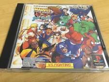 PS1 Marvel Super Heroes vs. Street Fighter EX Edition Japan PS PlayStation 1 F/S