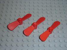 3 x LEGO Propellor 2 Blade 5.5 Diameter Réf 4745 Set 4244/1766/1699/4145/1705...