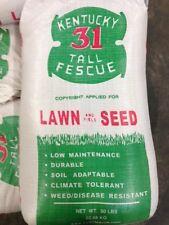 Kentucky 31 Tall Fescue Grass 25 lb of Quality Grass Seed 2017 Planting Season