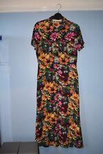 Zara Midi Shirtwaist Floral Tea Dress Brand New Gorgeous